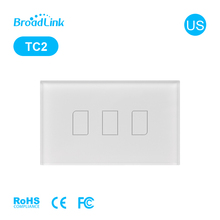BroadLink TC2 US 3Gang Smart Home Wireless Remote Power Switch 230v