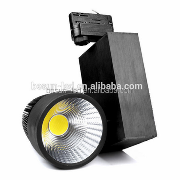CE Rohs ERP FCC approved 30W ceiling cob track light