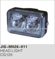 Motorcycle spare parts and accessories motorcycle head light for CG125