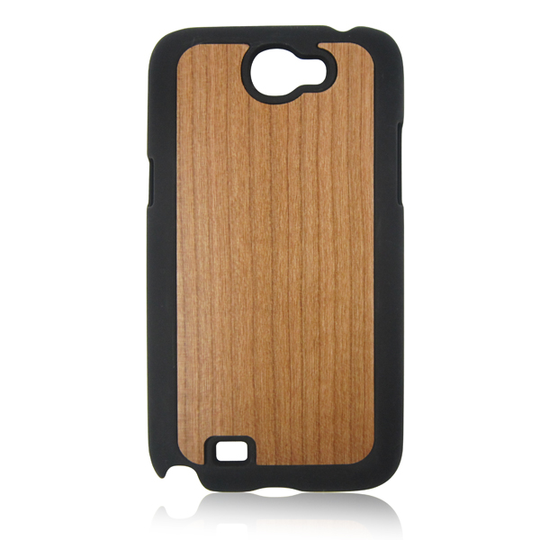 Real cherry wood phone shell PC bottom wooden case cell phone case for Samsung 7100