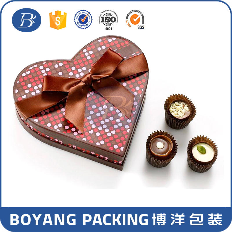High quality good product fancy chocolate bar box