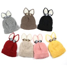 Promotional Embroider Knitting Beanie Newborn Baby Cap