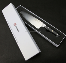 3Cr14 Wood Handle 8 inch Chef Knife Stainless Steel Damascus Kitchen Cutlery Set With Gift Box