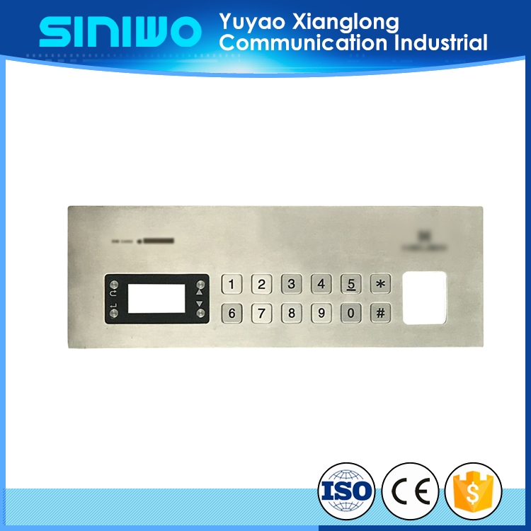 keypad integrated circuit for utilities payment kiosk customized embossed buttons switch keypad