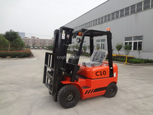 Chinese cheap 1 ton small diesel mini forklift for sale