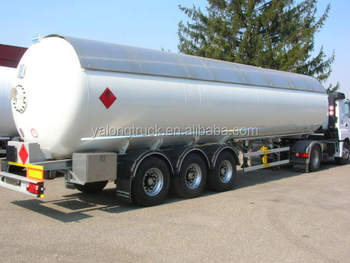 china brand high quality fuel tanker truck trailer