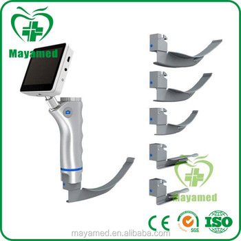 MY-G054A 2016 new Professional medical product Anesthesia color LCD display digital video laryngoscope for sale