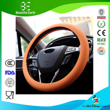 Car Steering Wheel Cover Super Feel Skid Environmental Tasteless Silicone Universal