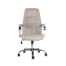 High quality swivel luxury leather executive office chair ergonomic with headrest