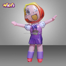 Giant advertising decoration inflatable girl mascot cartoon inflatable model of the girl