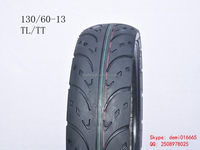 2015 best low price XD-009 scooter TT tubeless tire 130/60-13 motorcycle tire