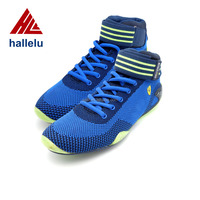 breathable knit woven weave racing shoes