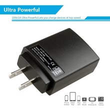 ac/dc travel phone EU/US plug charger USB socket 5V 2A for ac universal voltage 100-240v input