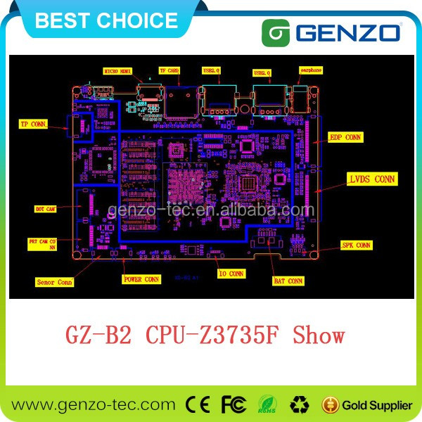 quick shipping x86 embedded motherboard