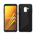 NS line design mobile phone cover For Samsung A8 2018 tpu case