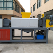 plastic film squeezing dryer/PE film squeeze screw press dryer