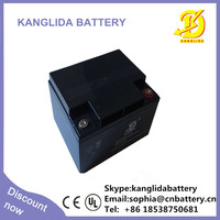 maintenance free Valve Regulated Rechargeable Battery 12v 40ah AGM Battery UPS Battery