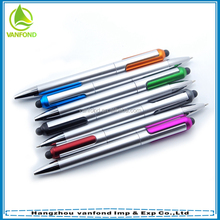 China new plastic promotinal touch pen for ipad and iphone