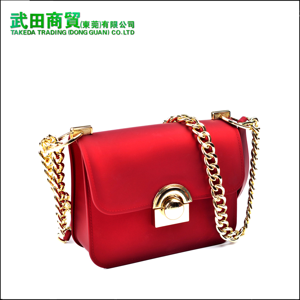 The latest style is the style of the fashionable fine silicon women's finalize bag