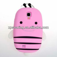 Smart case for Samsung Galaxy S4 I9500 silicone bee cover designed