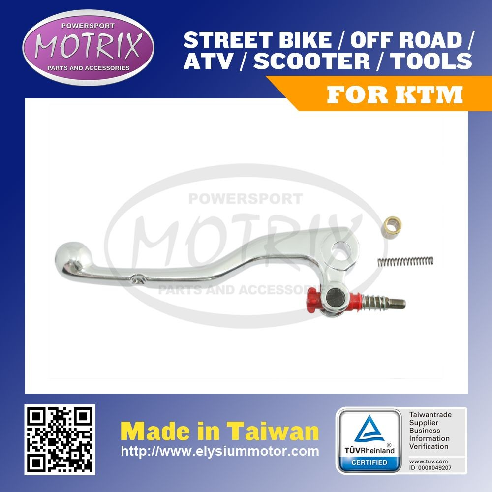 For KTM 2 STROKE POLISHED CLUTCH LEVER