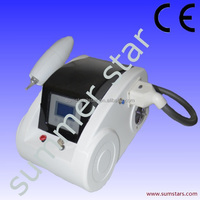 Red/green/blue/black tattoo removal machine for salon and clinic use
