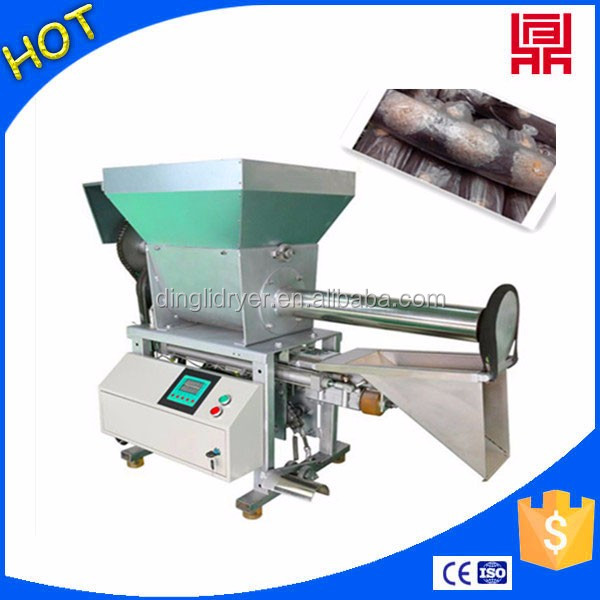 agricultural growing bag filling machine supply to mushroom producer