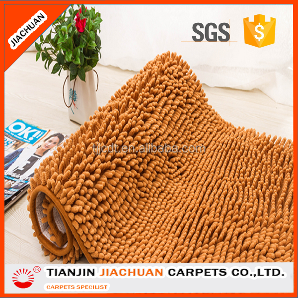 manufacturer wholesale microfiber chenille polyester carpet