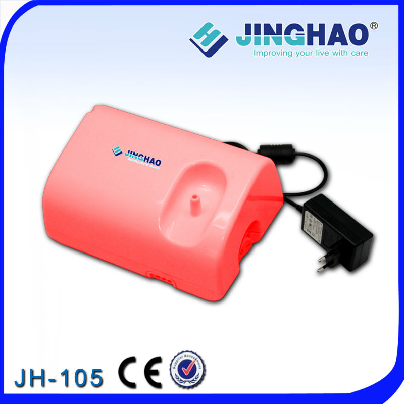 JH-105 220v 110v CE mini portable free medical mini quiet compressor nebulizer