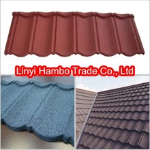 Natural Colorful stone coated metal roofing materials,Roofing