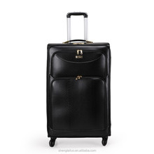 Hot selling cool business fashion kindly business man leather luggage/male luggage made in china leather factory