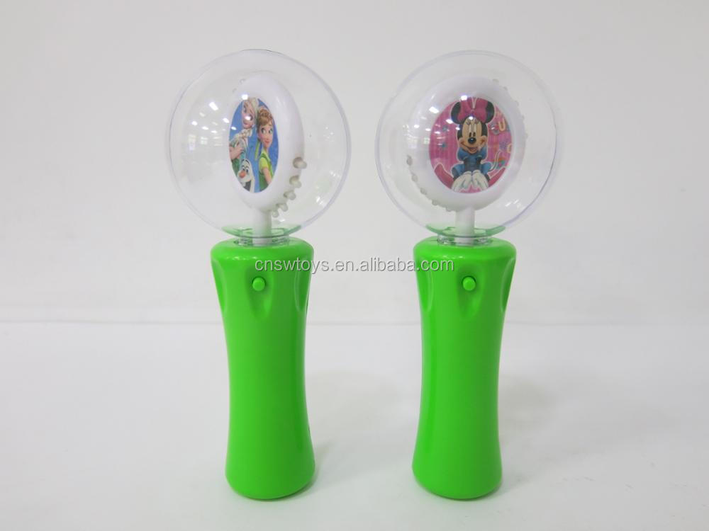 JR4601813 Light up Princess stick spinner Flashing magic wand toy