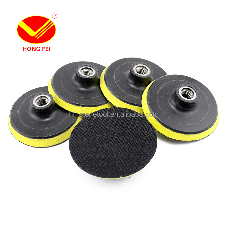 4inch Back-up Pad Velcro polisher Bonnet Pad 5/8'-11 <strong>M10</strong> M14 M16
