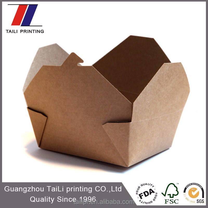 Hot sell cardboard lunch boxes wholesale
