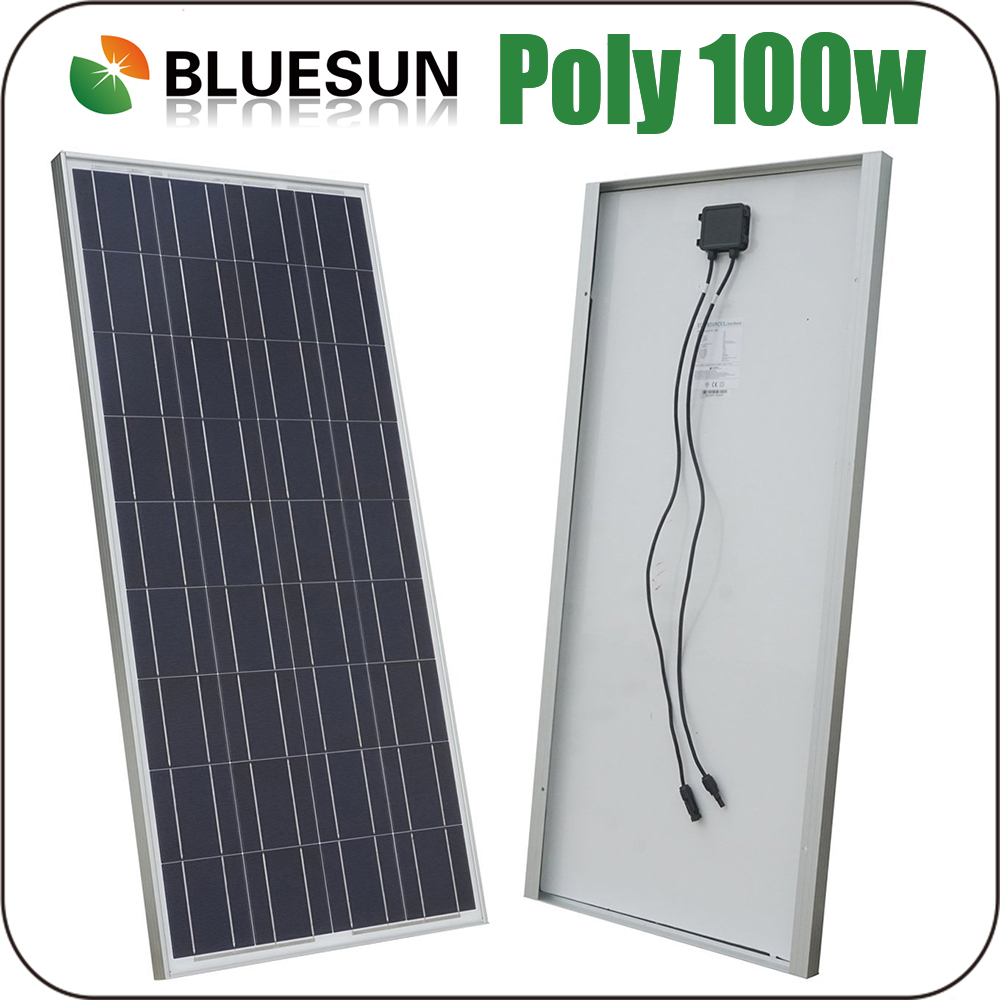 Bluesun poly 50w 80w 100w 150w 200w solar photovoltaic panel
