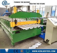 Galvanized Coated Steel Roll Forming Metal Roofing Machines For Sale
