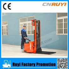 buy used full electric stacker with high-capacity traction battery