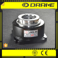 JHS oil powered open-center hydraulic Stationary Collet Chucks for metal CNC straightener lathe machine