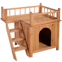 Fir wooden and popular luxury dog Kennel
