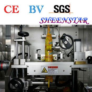 automatic shrink sleeve machine