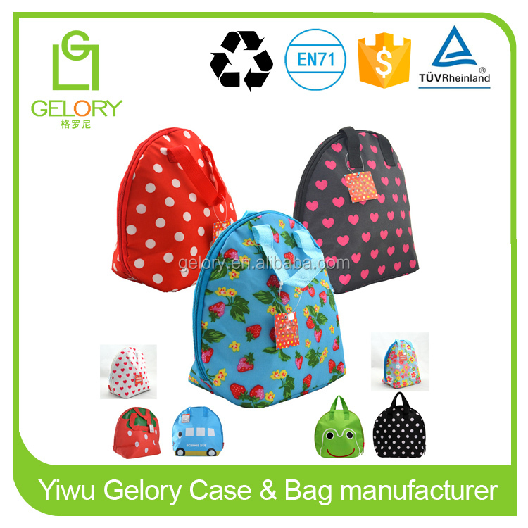 Thermal Insulated Lunch Bag for Kids School Lunch Box Carry Bag Picnic Water Bottle Cooler Tote bag