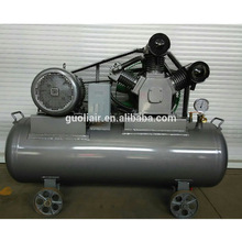125mm*2 +110mm*1 eco friendly belt drive oil free piston air compressor for sale