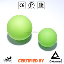 Flashing Glow In The Dark Fetch Squeaky Ball Rubber Dog Toys