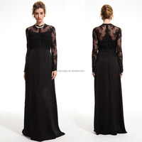 free prom elegant long sleeve evening dress online shopping