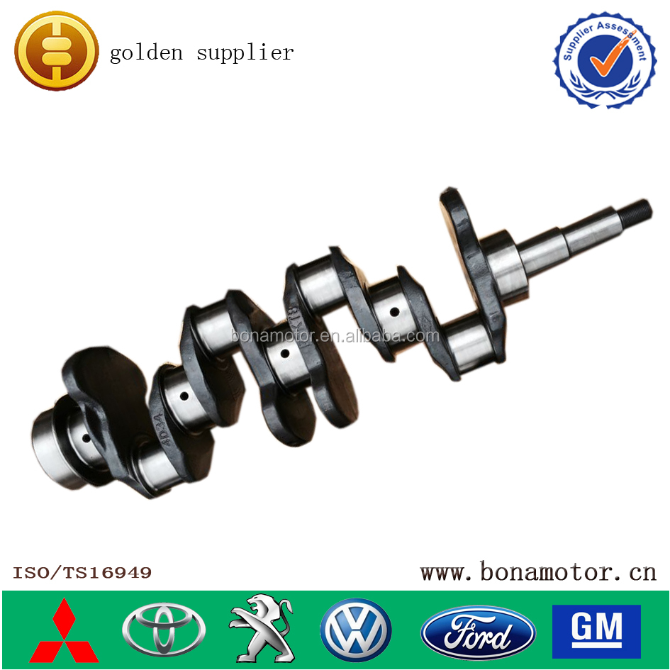 engine parts for MITSUBISHI 4D35 engine crankshaft