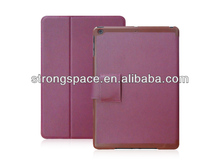 for ipad air stand case,360 degree rotating leather case