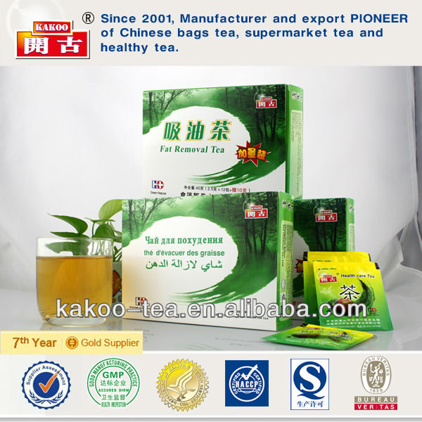chinese weight loss green tea fat removal tea