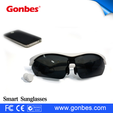 Bluetooth Headset Audio Sunglasses for Hands Free Call Voice Control