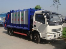 waste bin compactor garbage car for recycling garbage transport vehicle