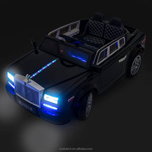 Black Rolls Royce Phantom Style Luxury Kid's Ride On Toy Battery Powered Remote Control w/FREE MP3 Player ride on car
